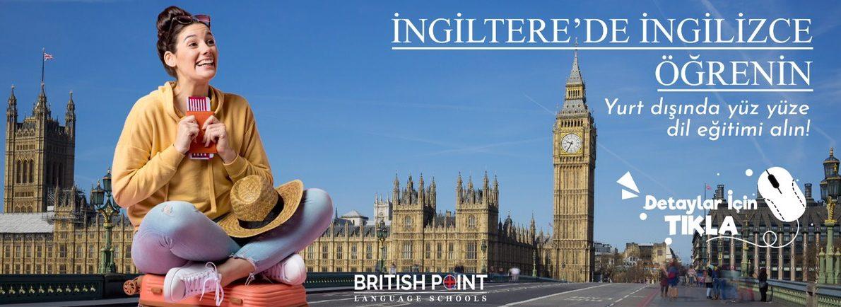 ingilterede ingilizce öğrenin